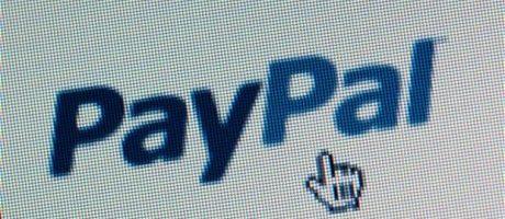 PayPal logo, blue